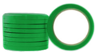 Coloured OOP Rubber Vegetable Bundling Tape 48mm - Pomona