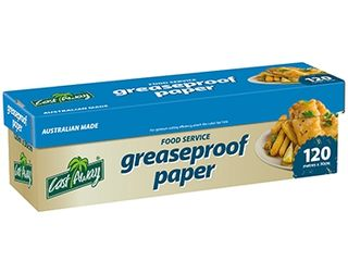 Greaseproof Paper Roll 30cm - 120m - Castaway