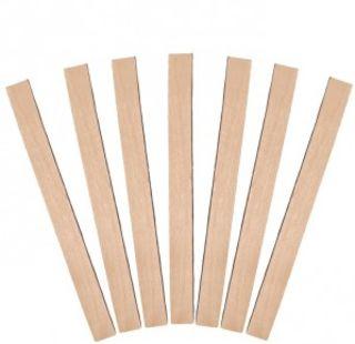 Wooden Stirrers, Regular, Natural (113 x 10 mm) - Castaway