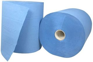 Roll Feed Paper Towel - Blue, 3 Ply - Matthews
