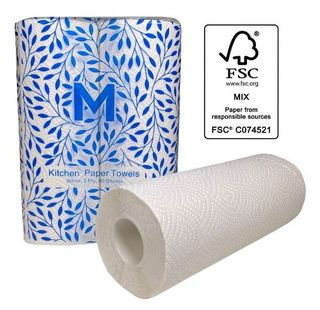 Kitchen Paper Towels - White,  2 Ply - Matthews