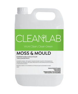 MOSS & MOULD - exterior moss & mould killer - CleanLab
