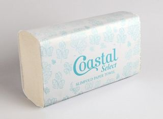 Slimfold paper towels - Coastal