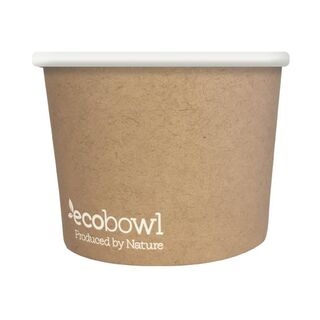 24oz/760ml Ecobowl - Soup/Icecream - Ecoware