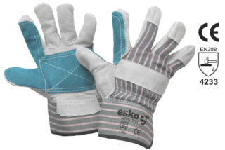 Leather Polishers Rigger Glove - Esko