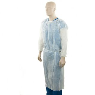 PP Clinical Gown - White - Bastion