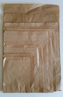 Flat Brown Paper Bags - 140x180 - No.1- Fortune