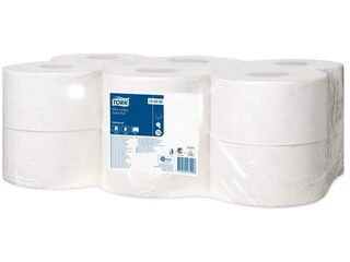 Mini Jumbo Recycled Toilet Roll 2Ply - Tork 0120280