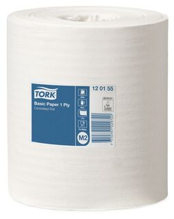 Basic Paper Centrefeed 1 Ply M2 - Tork 120155