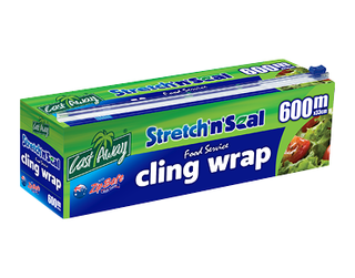 Stretch'n'Seal' Foodservice Cling Wrap 33cm - 600m - Castaway