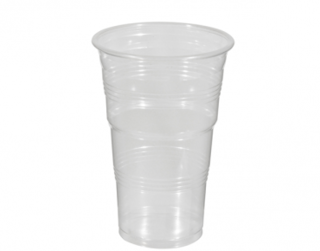 425ml Costwise' PP Cold Cup, Clear - Castaway