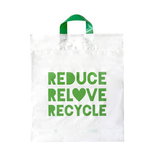 Retail/Checkout Bag Recyclable Medium 37x42.5cm - Ecobags - Pack or Carton