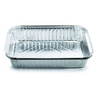 Large Oblong Takeaway Tray (ctn 420) - Confoil