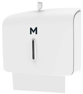 Slimfold Towel Dispenser - White, 300 Sheet Capacity - Matthews
