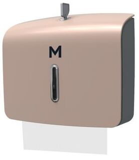 Slimfold Towel Dispenser - Gold, 300 Sheet Capacity  - Matthews