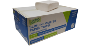 Slimline QUILTED Paper Towel 2Ply - CPC NZ