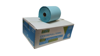 Centrefeed Towel 300m 1ply BLUE - CPC NZ