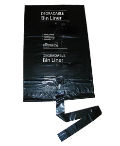 73L HD Refuse Degradable Liner with string