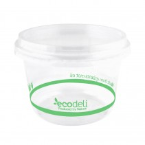 Deli Containers 500ml PLA - Ecoware