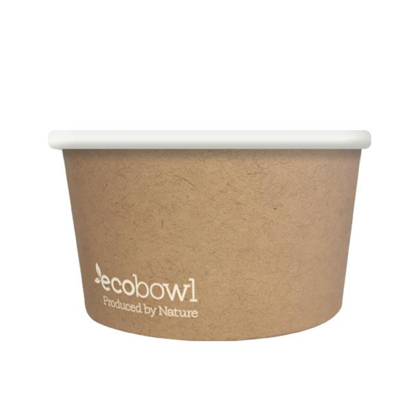 12oz/420ml Ecobowl - Soup/Icecream - Ecoware