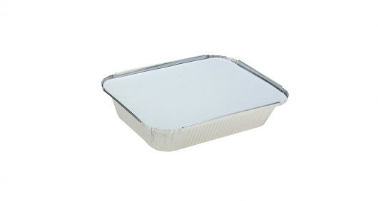 Rectangle Medium Takeaway with Lid - Uni-Foil