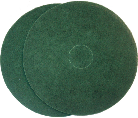 Floor Prep Pad Green Semi Thinline 425mm - Glomesh