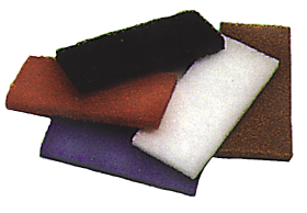 Glitterpad - 9x4 inch / 225x100mm (various colours) - Glomesh