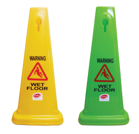 Gala Safety Cone - Wet Floor Yellow - 60cm