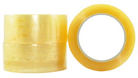 Premium OOP Rubber Packaging Tape CLEAR 48 mm - Pomona