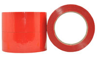 Coloured OOP Acrylic Packaging Tape RED 48mm - Pomona