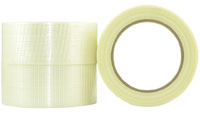 BiDrectional BOPP/Glass Fibre Filament Tape 24mm - Pomona