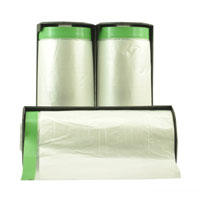 Cloth Pre Taped Interfold Masking Film 1100mm x 17m - Pomona