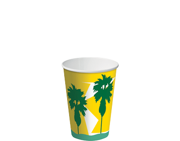 8oz Daintree' Paper Cold Cup - Castaway