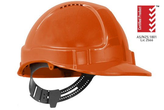 TUFF-NUT' Vented PinLock Hard Hat, ORANGE - Esko