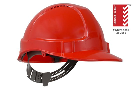 TUFF-NUT' Vented PinLock Hard Hat, NEON ORANGE - Esko