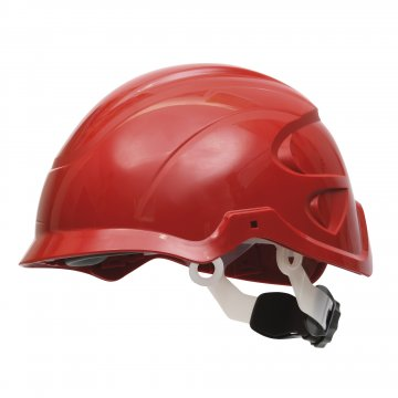 Nexus SecurePlus Non-Vented Helmet Protection System RED - Esko