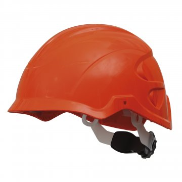 Nexus SecurePlus Non-Vented Helmet Protection System HI-VIS ORANGE - Esko