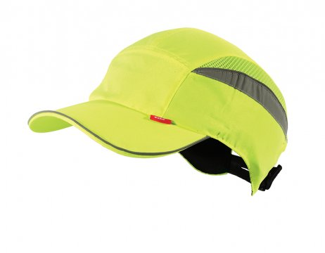 Esko Bump Cap Long Peak HI-VIS YELLOW - Esko