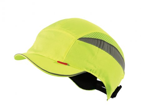 Esko Bump Cap Short Peak HI-VIS YELLOW - Esko