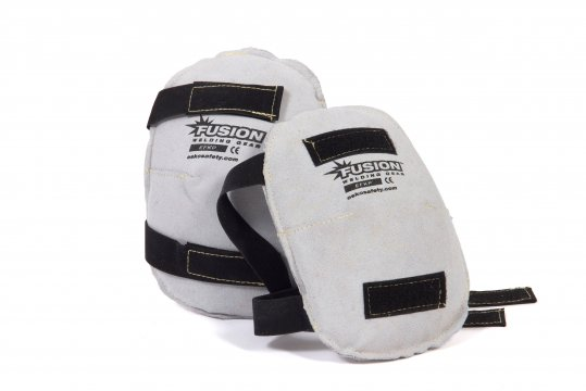 FUSION' Welders Leather Kneepads, Kevlar Stitched - Esko