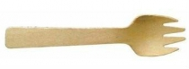 Spork Timber 10cm - Vegware