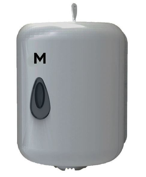 Centre Feed Towel Dispenser - Silver, 1 Roll Capacity - Matthews
