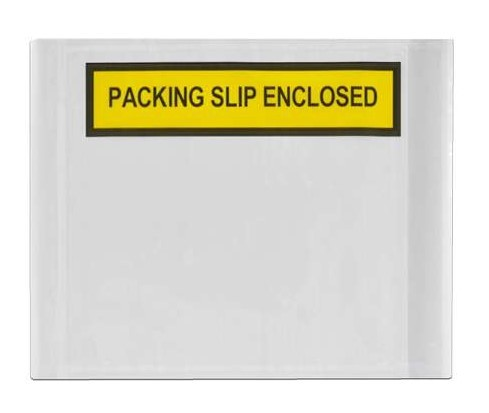 Adhesive Labelope Packing Slip Enclosed - White, 115mm x 150mm - Matthews