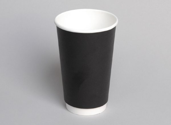 Hot Cup - 16oz Double Wall - Coastal